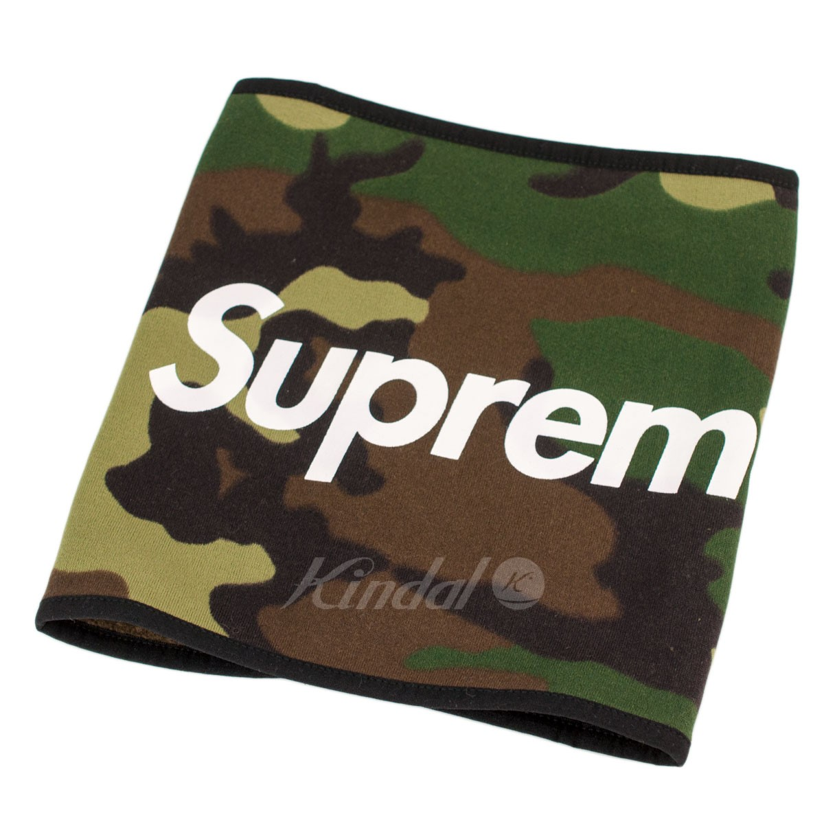 【中古】SUPREME 2015AW Fleece Neck Gaiter 迷彩 【送料無料】 【000934】 【銅】