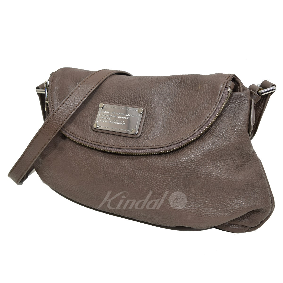 8edd59661052 MARC by MARC JACOBS CLASSIC Q NATASHA leather shoulder bag brown size  -  MARC BY MARC JACOBS