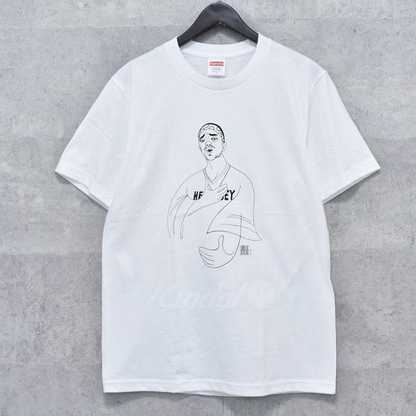 【中古】SUPREME 18SS PRODIGY TEE プリントTシャツ ホワイト サイズ:M 【送料無料】 【020418】(シュプリーム)