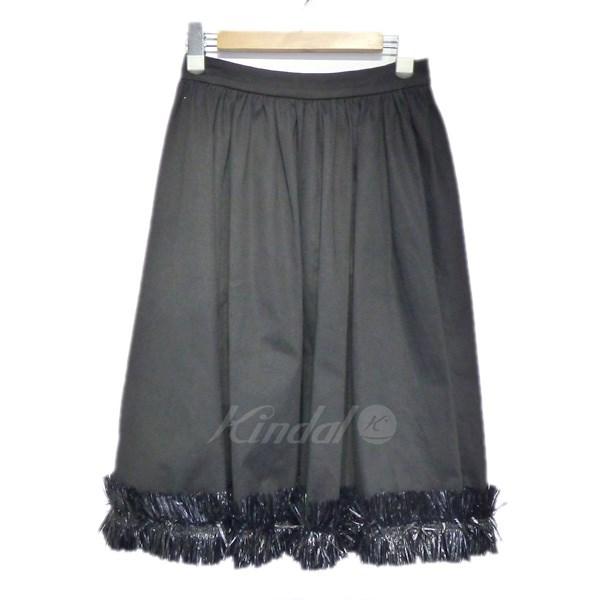 【中古】Blumarine 装飾フレアスカート 【送料無料】 【037986】 【KIND1550】