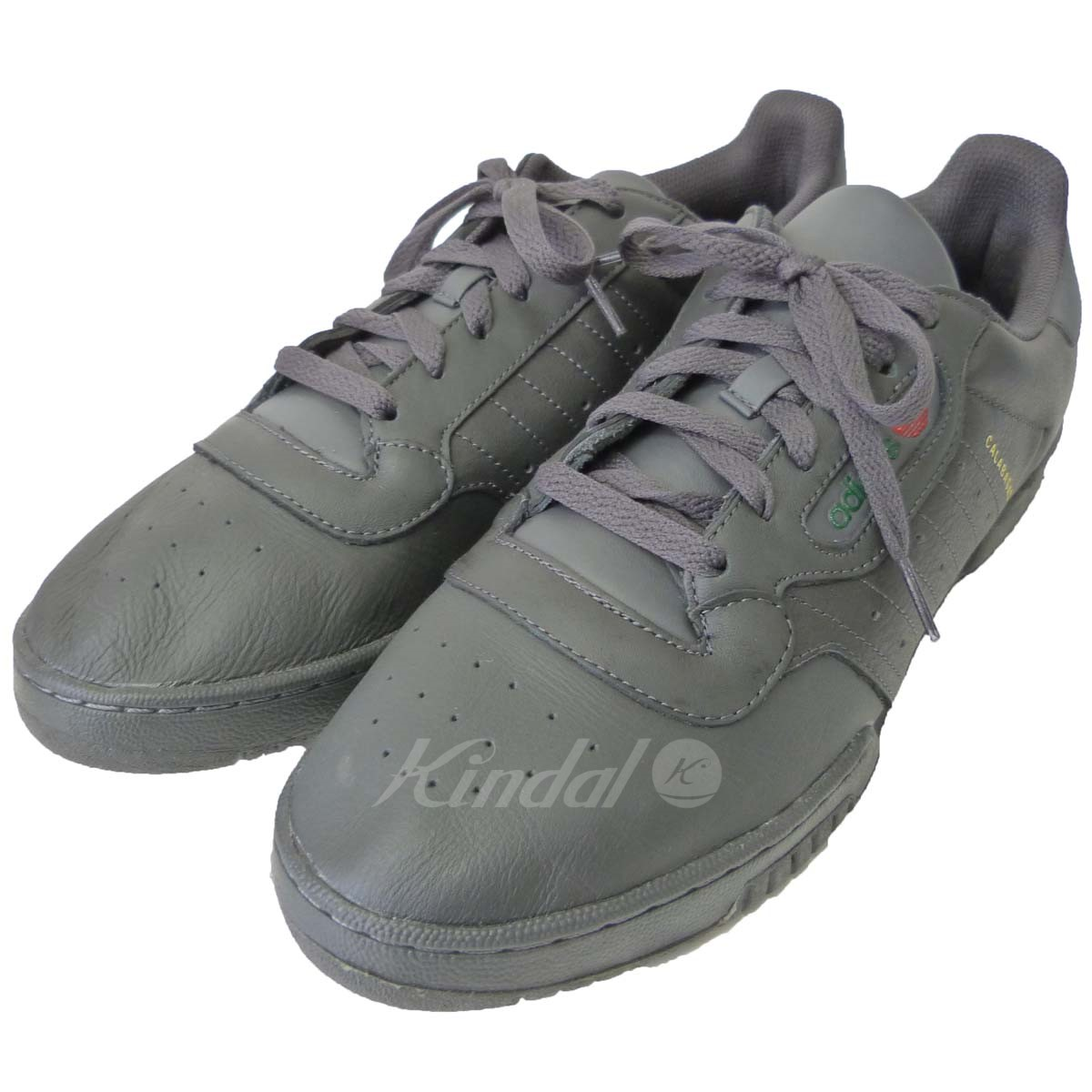 【中古】adidas originals by Kanye West CG6420「YEEZY POWERPHASE」スニーカー 【送料無料】 【049026】 【KIND1641】