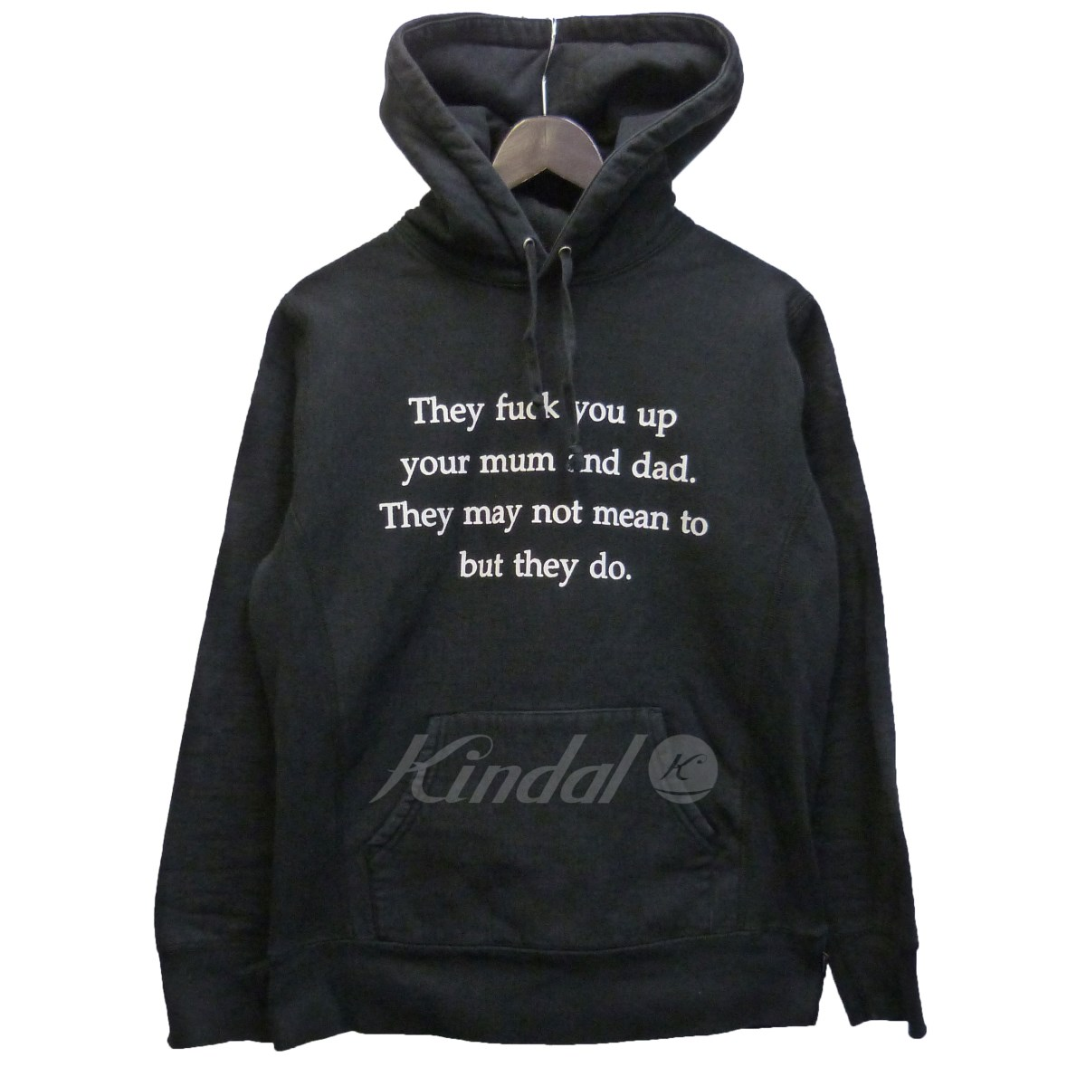 【中古】SUPREME 16AW 「They Fuck You Up Hooded Sweatshirt」 【送料無料】 【052538】 【KIND1550】