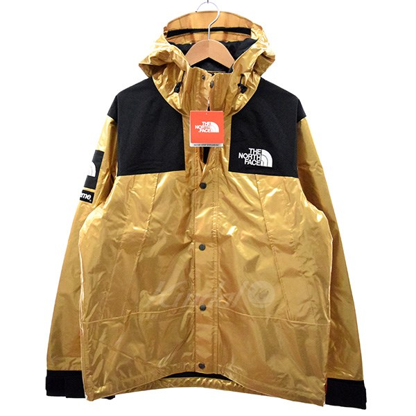 【中古】SUPREME×THE NORTH FACE 18SS Metallic Mountain Parka マウンテンパーカー 【送料無料】 【001279】 【KIND1489】