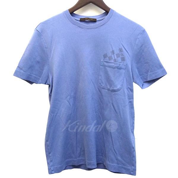 【中古】LOUIS VUITTON 胸ポケットモノグラムTシャツ 【送料無料】 【000767】 【銅】
