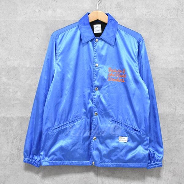 【中古】BEDWIN & THE HEARTBREAKERS JILL COACH JACKET コーチジャケット ブルー サイズ:2 【送料無料】 【230418】(ベドウィン&ザ・ハートブレイカーズ)
