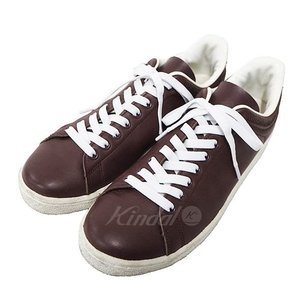 3923a98001a1 Undercover giz embroidery leather sneakers shoes brown size under cover jpg  600x600 Undercover shoes
