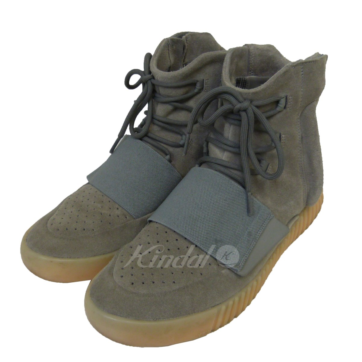 【中古】adidas originais by Kanye West 16SS「YEEZY BOOST 750」ハイカットスニーカー 【送料無料】 【057564】 【KIND1550】