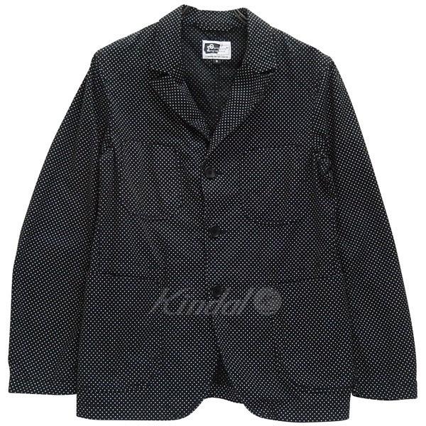 【中古】Engineered Garments ベッドフォードジャケット ポルカドット USA製 ネペンテス 【送料無料】 【001032】 【SG1476】