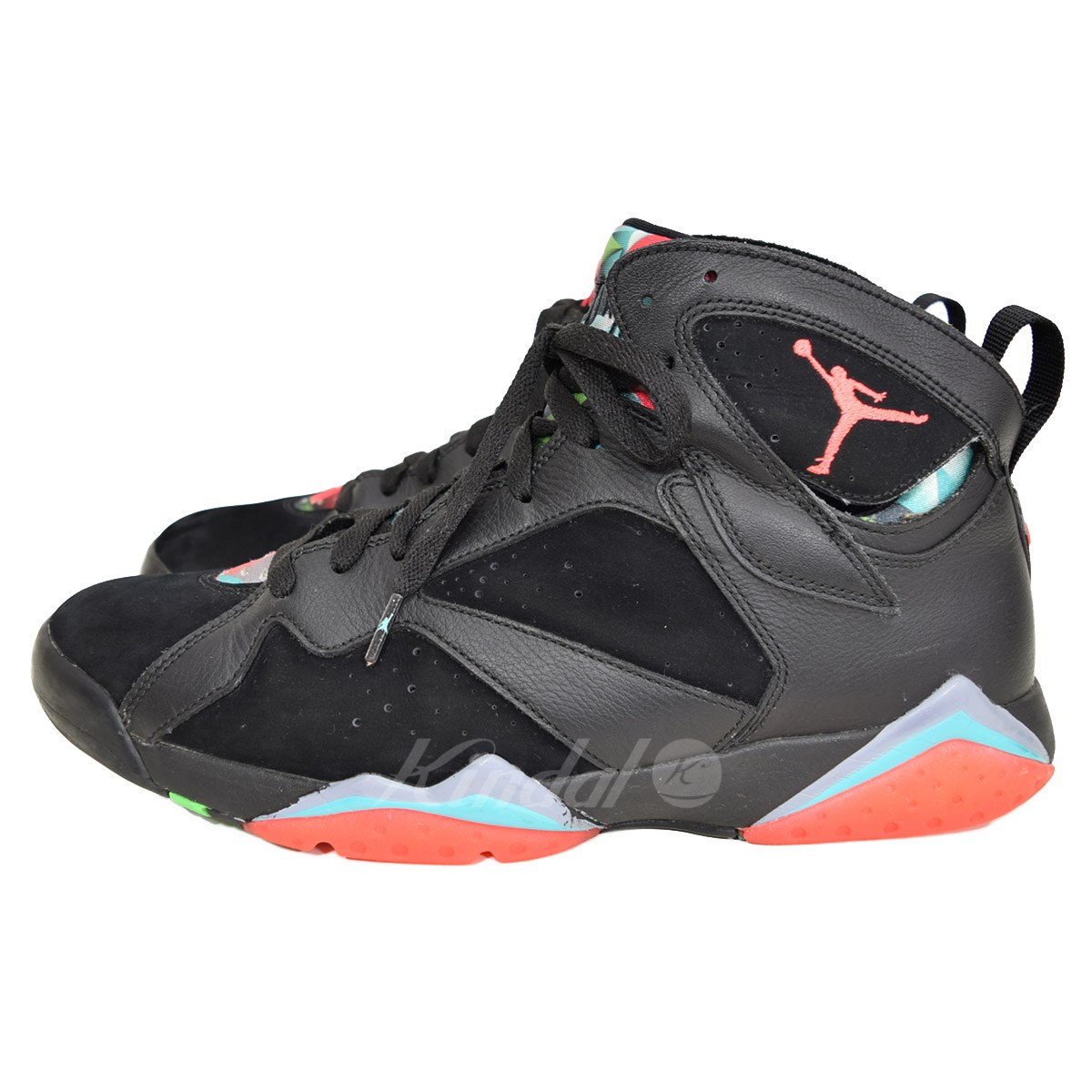 NIKE AIR JORDAN 7 RETRO Air Jordan 7 nostalgic 30th memory 705350 007 black  size  US 11. 5 (Nike) 7bb8d8592
