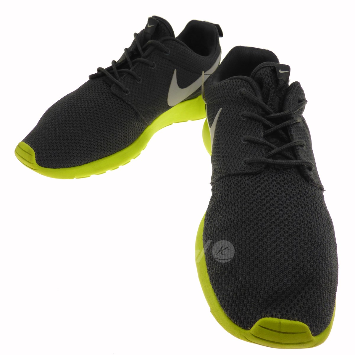 finest selection dd097 59d5f ... hot nike roshe run sneakers 511881 003 gray x yellow size 28. 5cm nike  325b6
