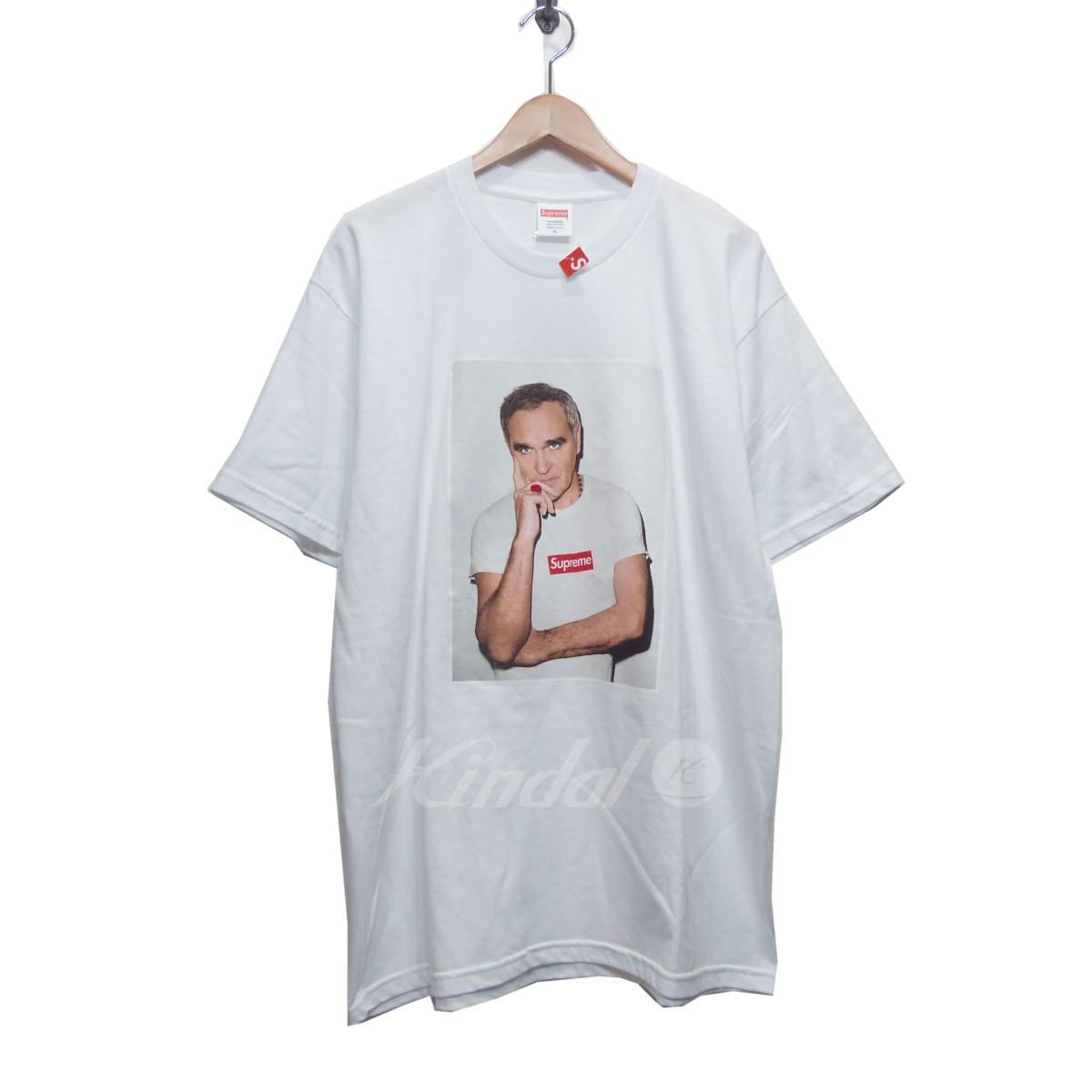 【中古】SUPREME シュプリーム 2016SS Morrissey Tee プリント Tシャツ ホワイト サイズ:XL 【送料無料】 【080518】(シュプリーム)