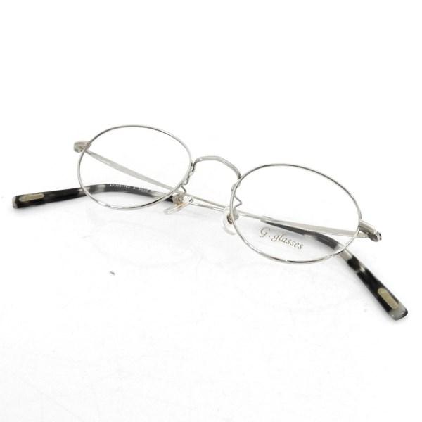 【中古】g.glasses 「GG03 PANTO」眼鏡 クリア 【100518】(ジーグラッシーズ)