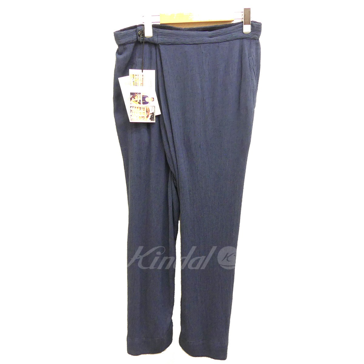 【中古】I OWE YOU ART COMES FIRST ドレープタイパンツ Draped Thai Pant 2017SS 【送料無料】 【003805】 【銅】