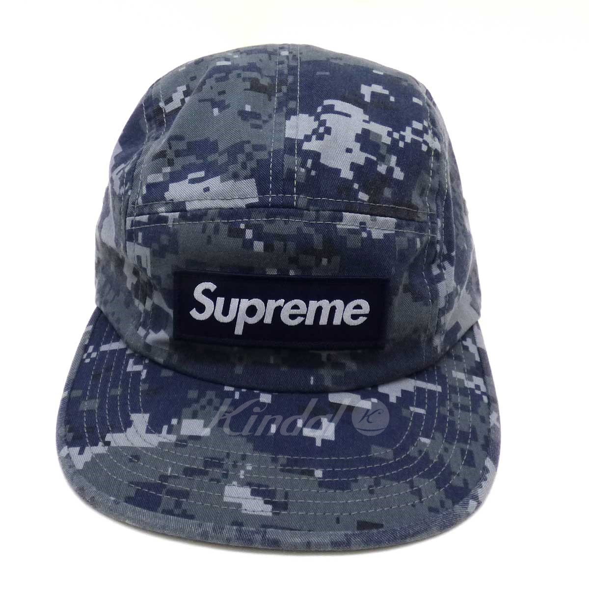 【中古】SUPREME NYCO Twill Camp Cap 2017A/W 【送料無料】 【083763】 【KT1321】 【返品不可】