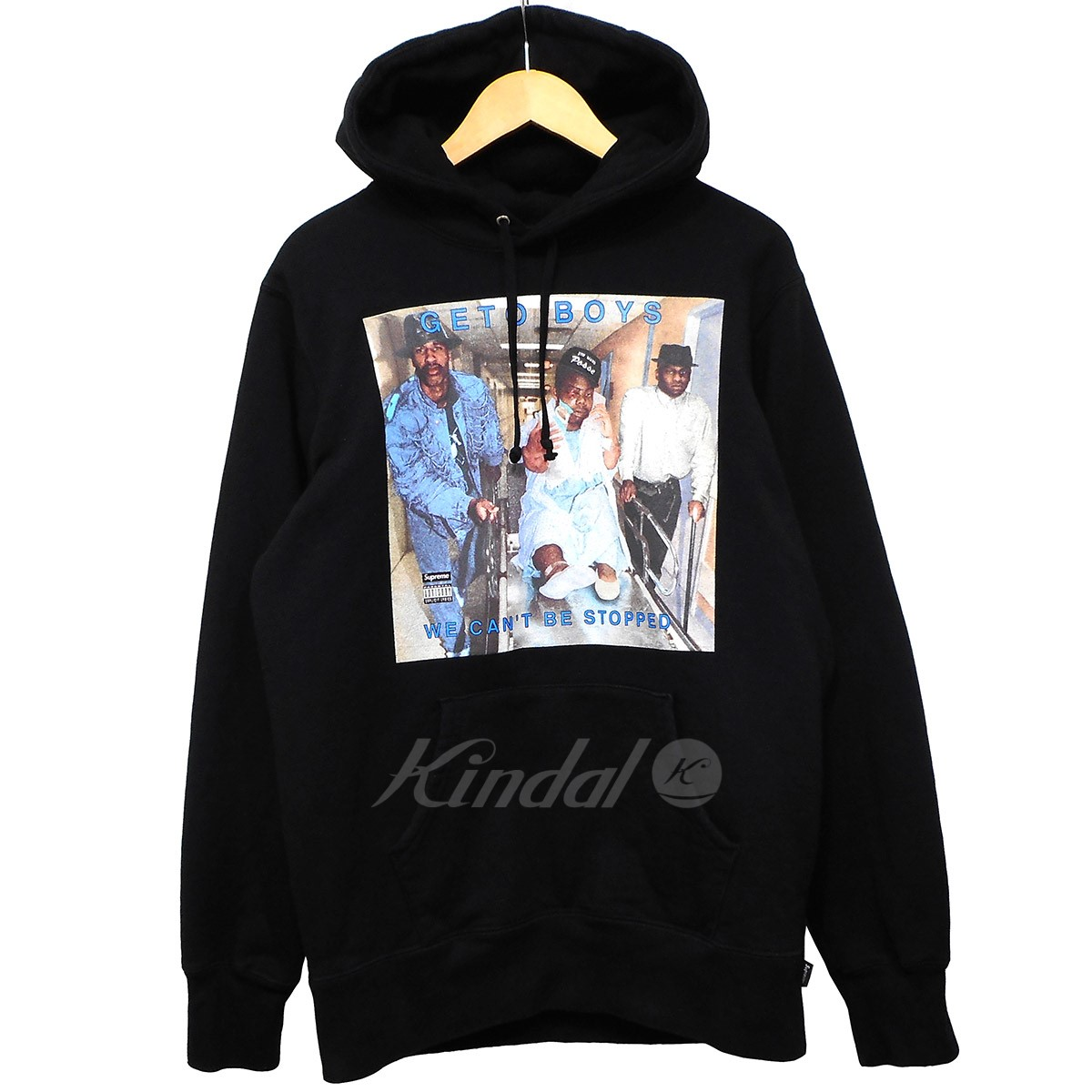 【中古】SUPREME 17SS Rap-A-Lot Geto Boys Hooded Sweatshirt 【送料無料】 【001351】 【KIND1550】