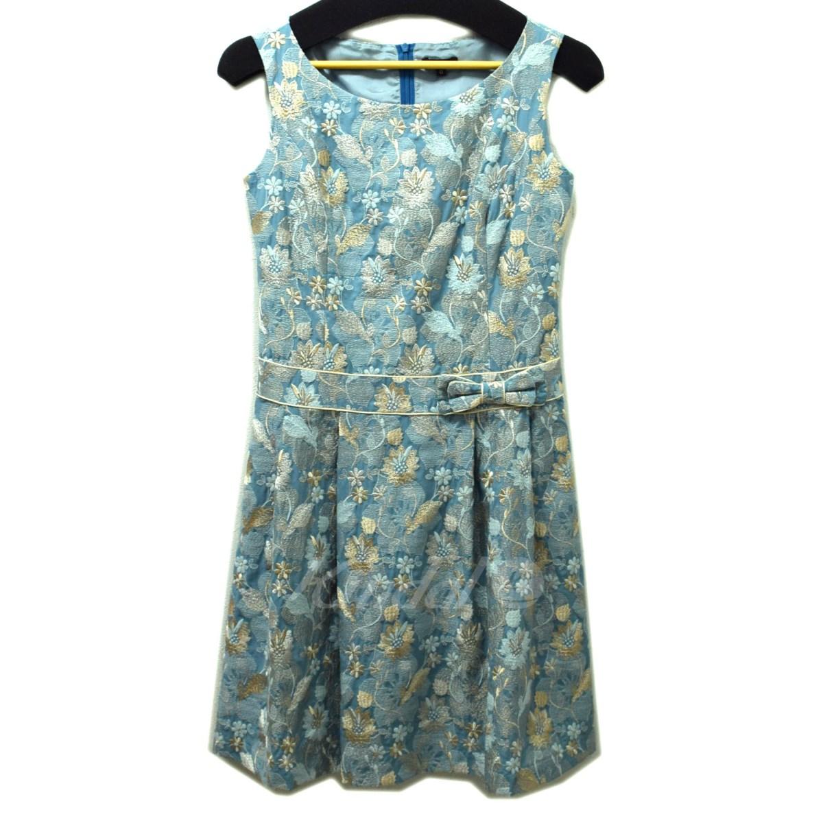 【中古】TOCCA フラワー刺繍ワンピース 【送料無料】 【002538】 【KIND1550】