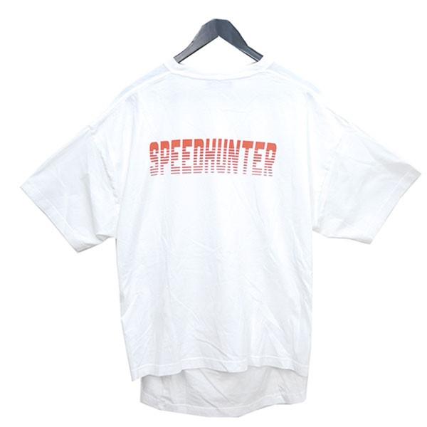 【中古】BALENCIAGA 2018SS SPEED HUNTER ダブルヘム Tシャツ ホワイト サイズ:S 【送料無料】 【060618】(バレンシアガ)