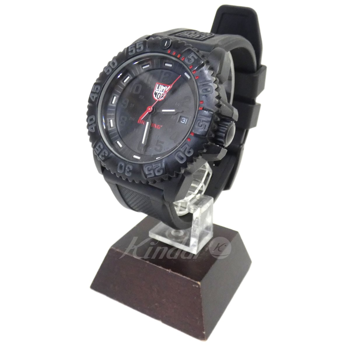 【中古】LUMINOX × BRIEFING 「Ref. 3051. BO BRIEFING LTD」SERIS 3050 141/250 腕時計 【送料無料】 【069338】 【KIND1489】