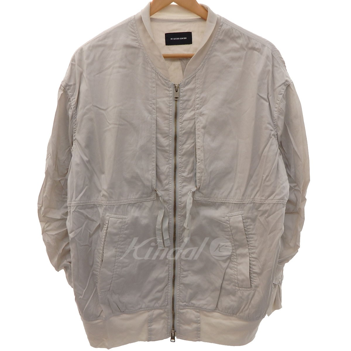 【中古】DIET BUTIER SLIM SKIN 17SS Garment dyed flight jacket MA-1 フライトジャケット 【送料無料】 【004261】 【KIND1550】