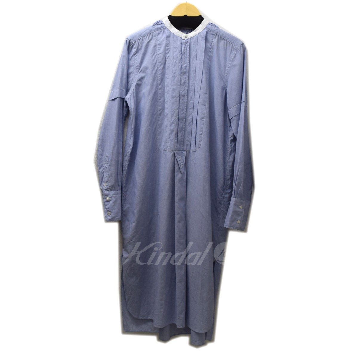 【中古】FUMIKA UCHIDA 2017AW BRUSH MARKS COTTON SMOCK TUCK SH DRESS 【送料無料】 【001193】 【KIND1550】