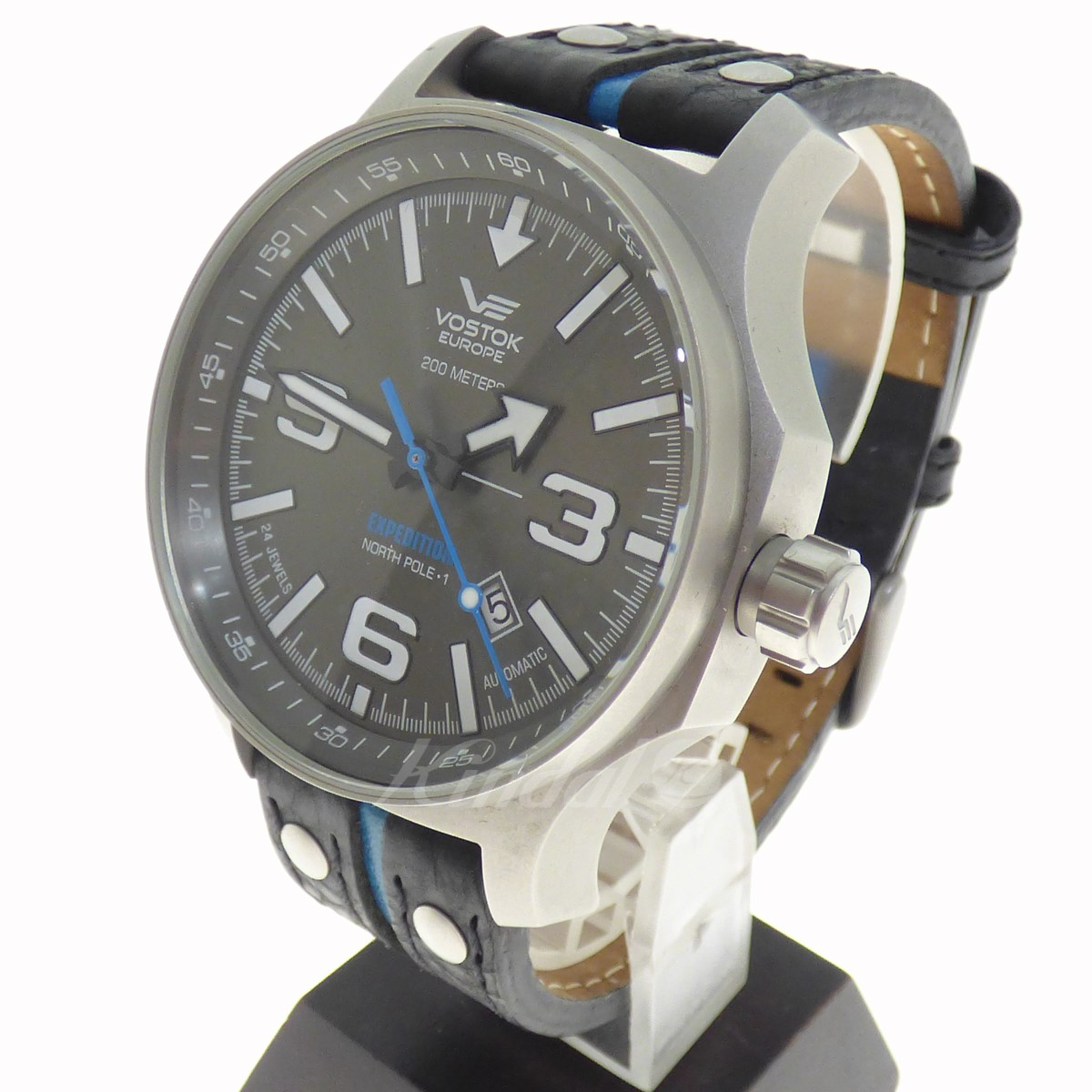 【中古】VOSTOK EUROPE EXPEDITION NORTH POLEI 時計 【送料無料】 【064341】 【KIND1489】