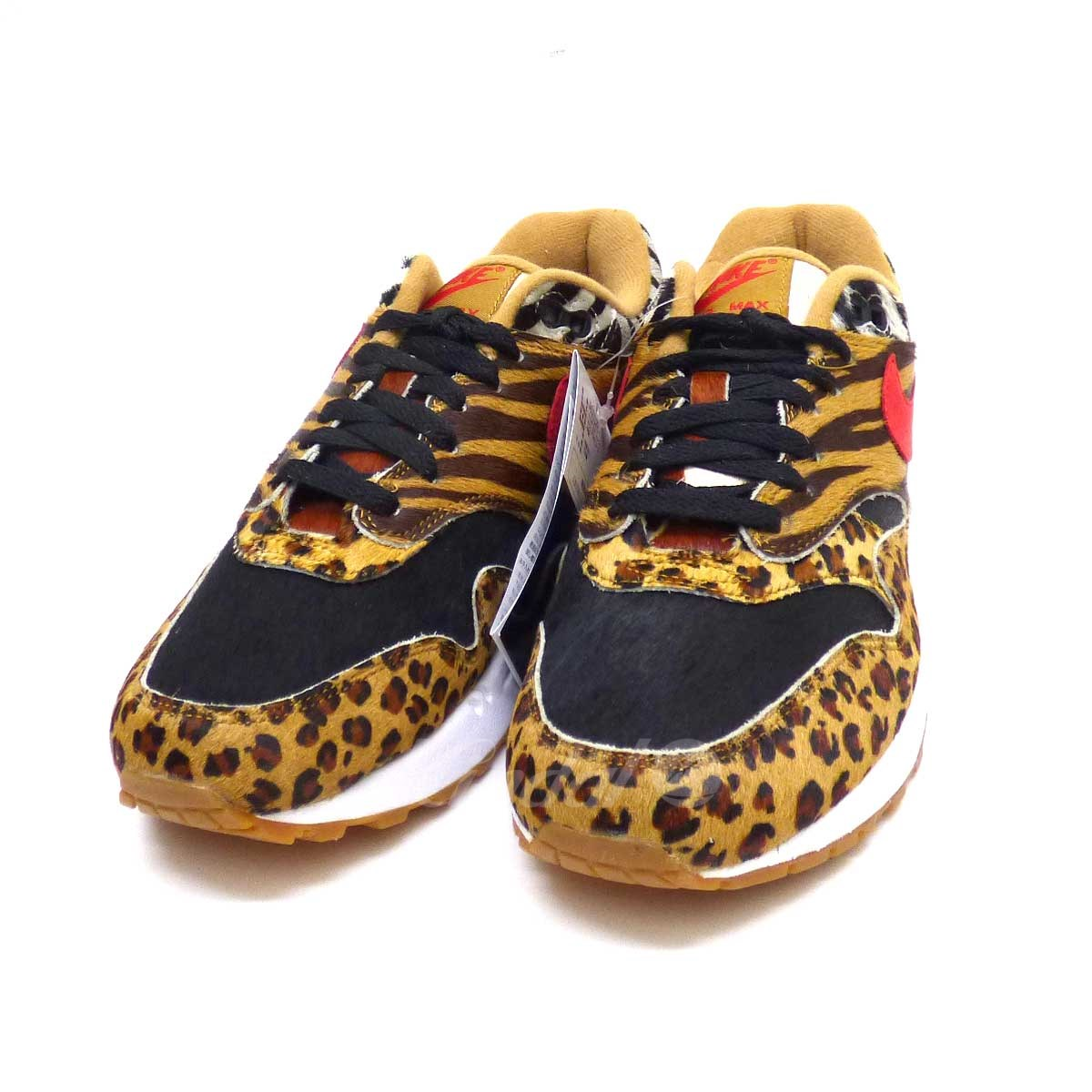 【中古】NIKE AIR MAX 1 DLX  2018S/S ATMOS ANIMAL PACK スニーカー 【送料無料】 【095254】 【KT1544】 【返品不可】