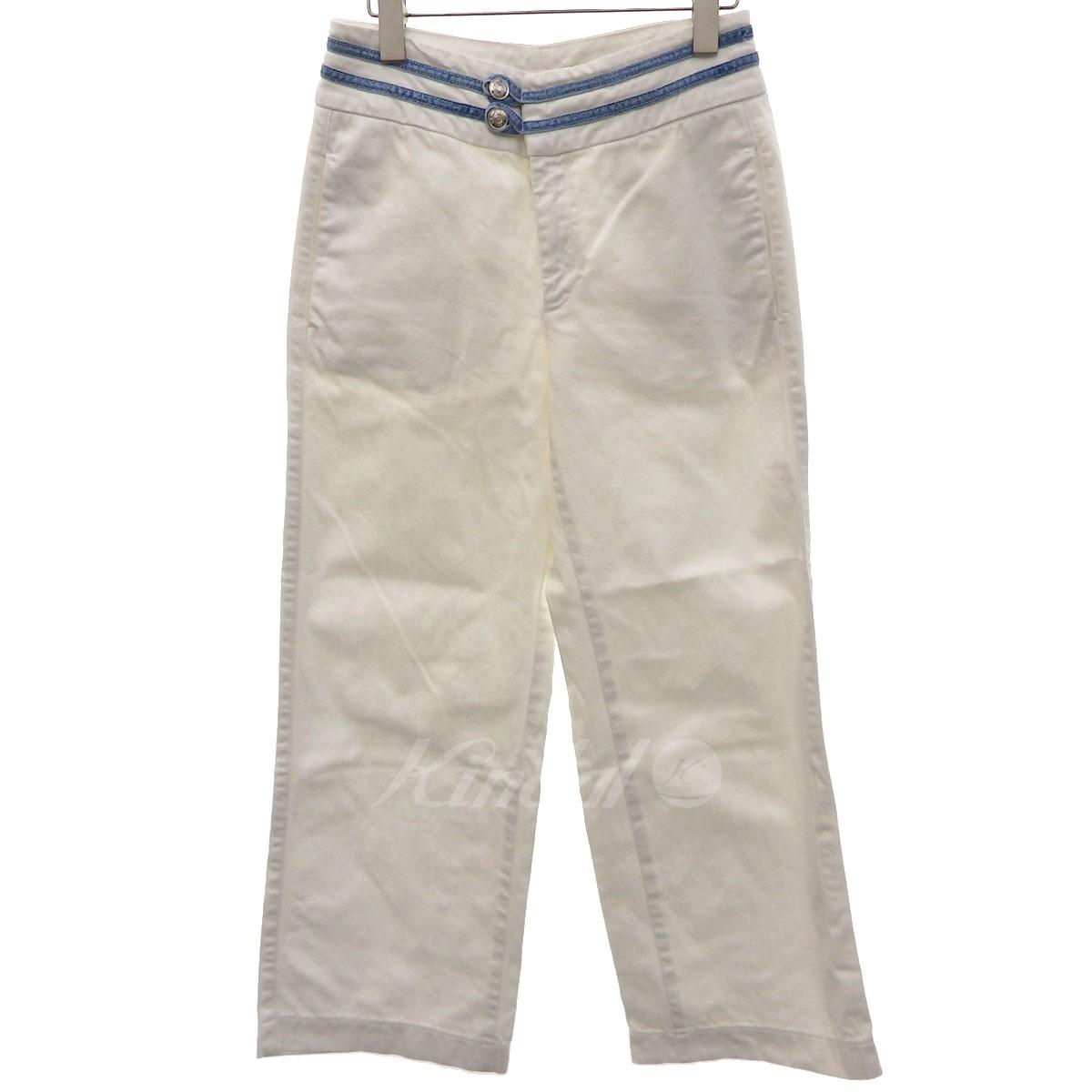728280360e SEE BY CHLOE wide underwear white size: 40