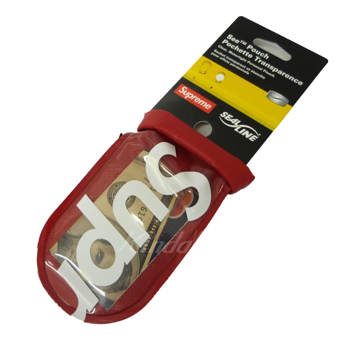 【中古】SUPREME 18SS「SealLine See Piuch Small」シーポーチ レッド サイズ:- 【送料無料】 【210618】(シュプリーム)