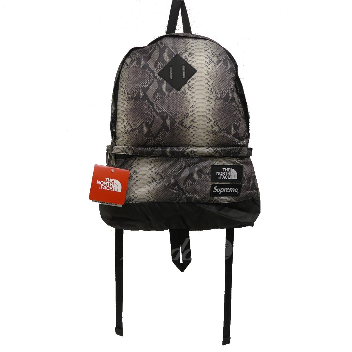 0c3a5348254 SUPREME X THE NORTH FACE 2018S/S Snakeskin Lightweight Day Pack backpack  gray size: ...