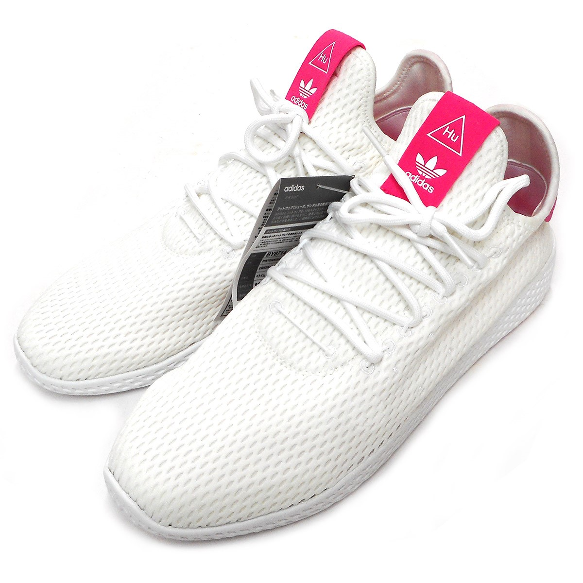 【中古】adidas originals × Pharrell Williams TENNIS HU PREMEKNIT SHOES スニーカー 【送料無料】 【001512】 【KIND1550】
