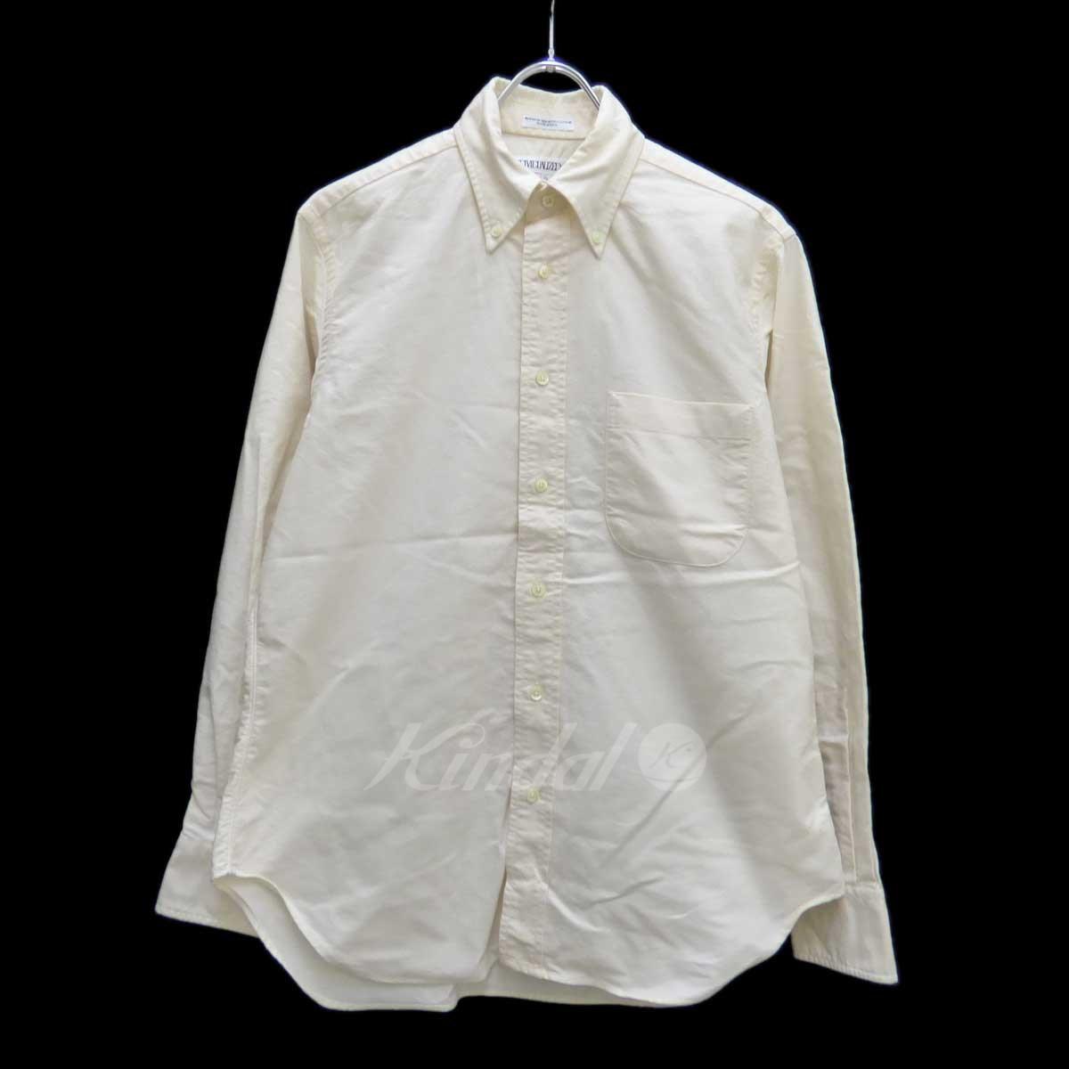 【中古】INDIVIDUALIZED SHIRTS ボタンダウンシャツ アイボリー サイズ:14 1/2 32 【260618】(インディビジュアライズドシャツ)