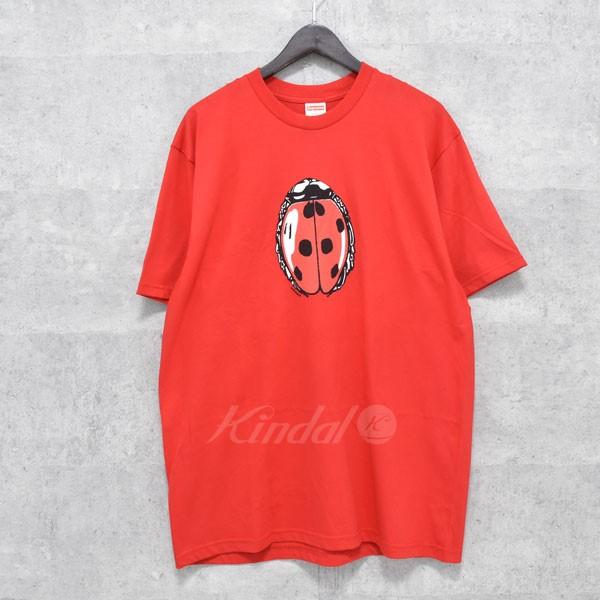 お買い得モデル 【中古 Ladybug】SUPREME 18SS Ladybug レッド Tee Tee てんとう虫Tシャツ レッド サイズ:L【送料無料】【010718】(シュプリーム), MATA打太郎ゴルフ:df688a75 --- ld49a8ed.justinstalledpanel.com