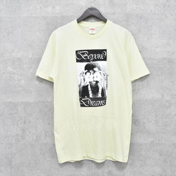 【中古】SUPREME 16AW ビヨンドドリームTシャツ Beyond Dreams Tee イエロー サイズ:M 【送料無料】 【010718】(シュプリーム)