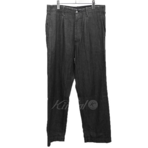 【10月15日 お値段見直しました】【中古】TUKI「0071」デニムパンツ ブラック サイズ:3 【送料無料】