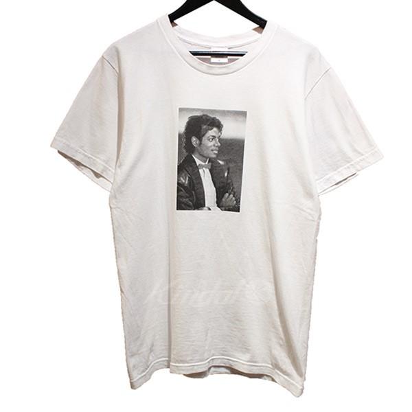 【中古】SUPREME 2017SS Michael Jackson Tee マイケルジャクソン Tシャツ ホワイト サイズ:M 【送料無料】 【060718】(シュプリーム)