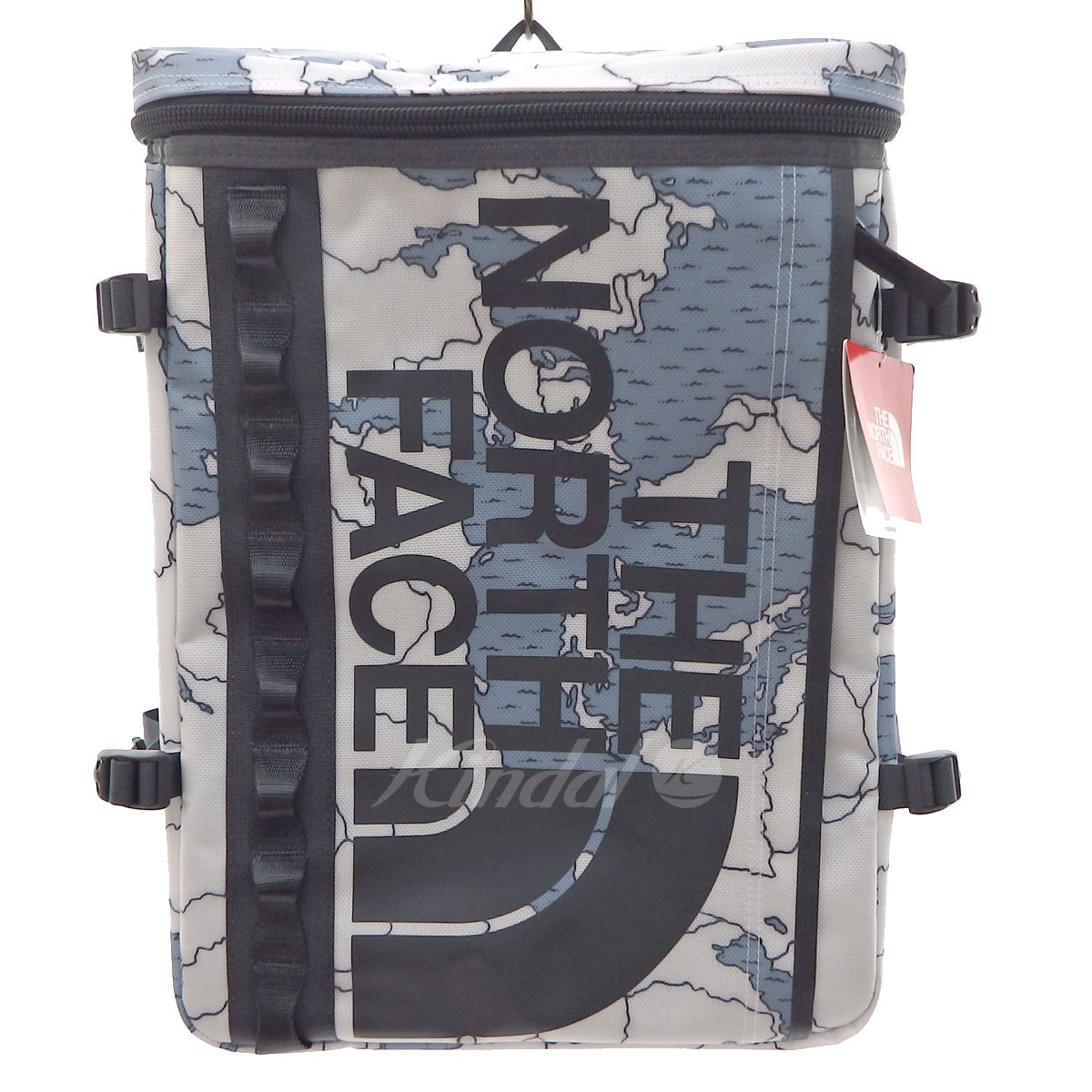 THE NORTH FACE NM81630 BC FUSE BOX backpack white X gray (the North Face)