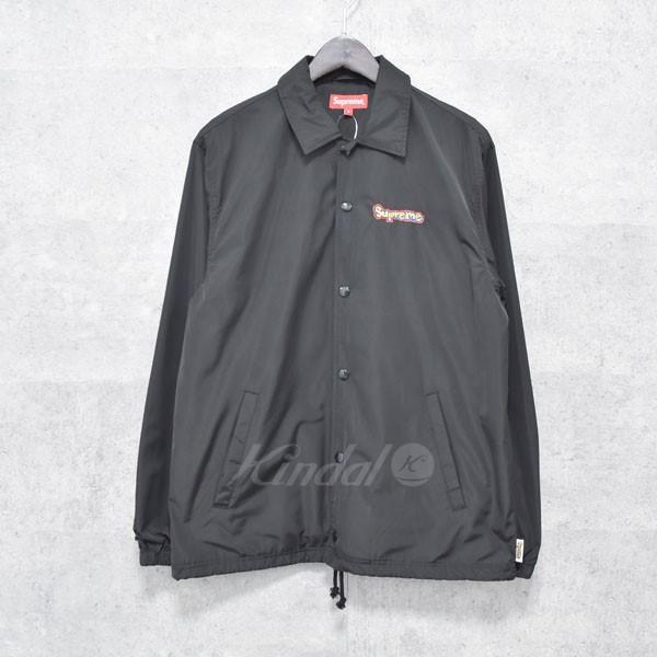 【中古】SUPREME 18SS  Gonz Logo Coaches Jacket  コーチジャケット ブラック サイズ:S 【送料無料】 【120718】(シュプリーム)
