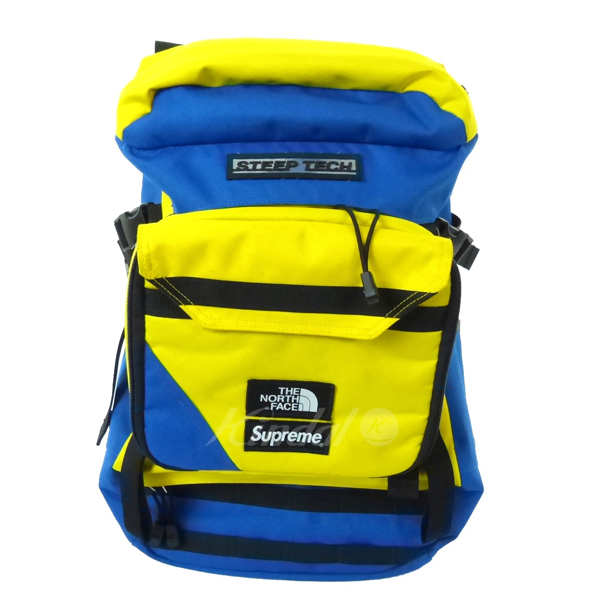 【中古】SUPREME×THE NORTH FACE STEEP TECH BACKPACK バックパック 2016S/S 【送料無料】 【070024】 【KIND1641】