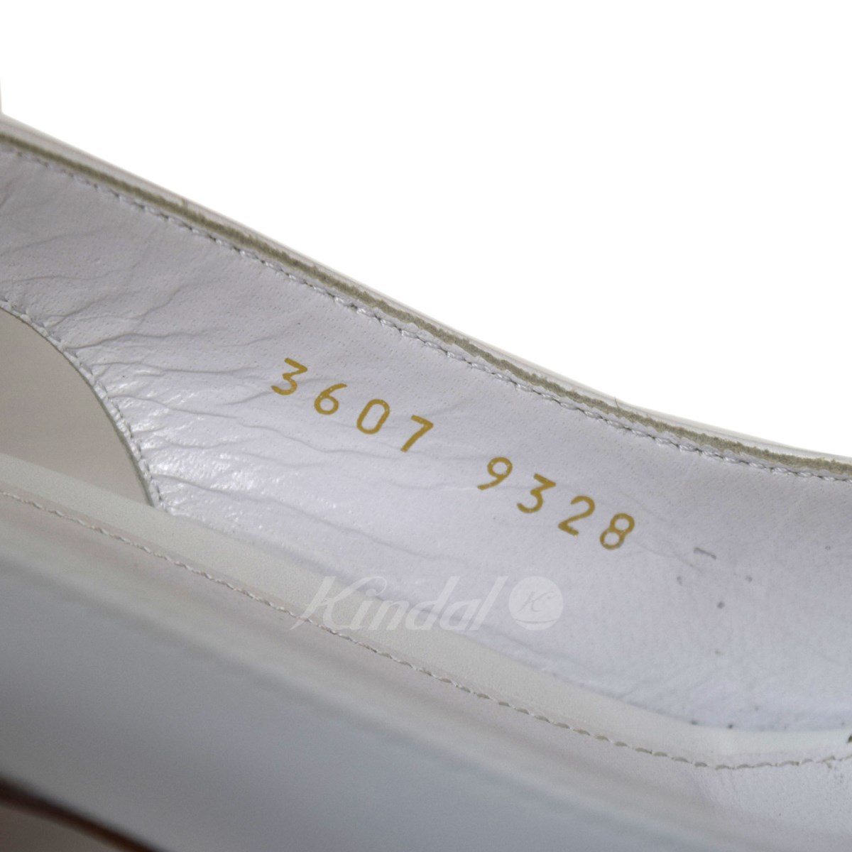 Gianvito Rossiオープントゥストラップサンダル ホワイト サイズ 36 1 2E2bDIeWH9Y