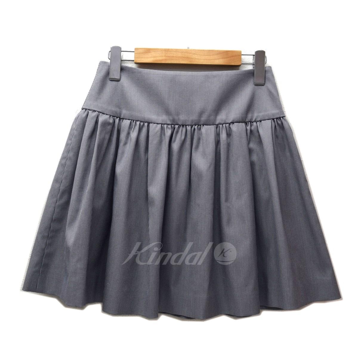【中古】RED VALENTINO 千鳥格子スカート 【送料無料】 【001198】 【KIND1550】