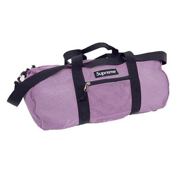 【中古】SUPREME 16SS Mesh Duffle Bag 【送料無料】 【001539】 【KIND1550】