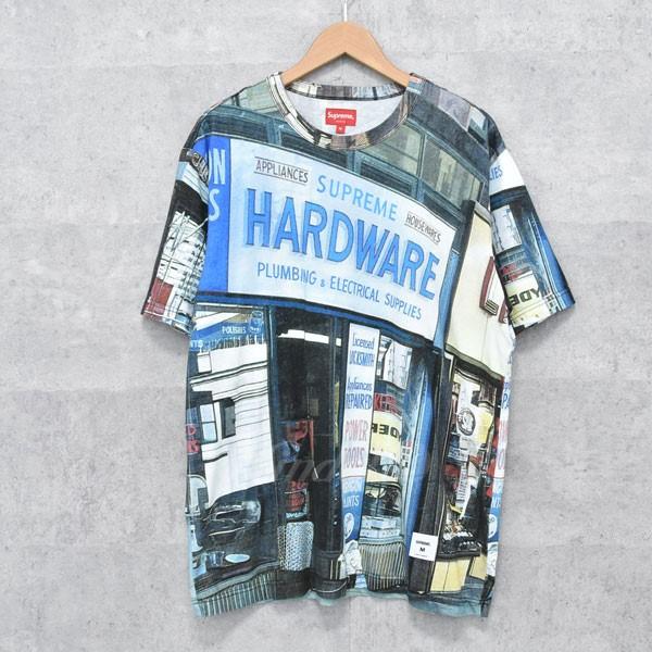 【中古】SUPREME 18SS hardware s/s top 総柄Tシャツ マルチカラー サイズ:S 【送料無料】 【140718】(シュプリーム)