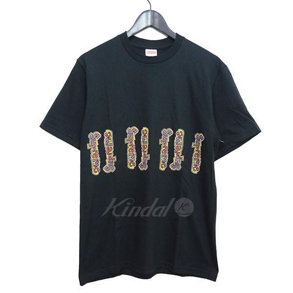 【中古】SUPREME 2018SS Gonz Logo Tee ゴンズ ロゴプリント Tシャツ ブラック サイズ:M 【送料無料】 【150718】(シュプリーム)