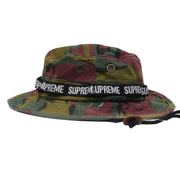 Supreme 2018SS Military Boonie Hat camouflage pail hat multicolored size   M L (シュプリーム) db32ad5ba7a