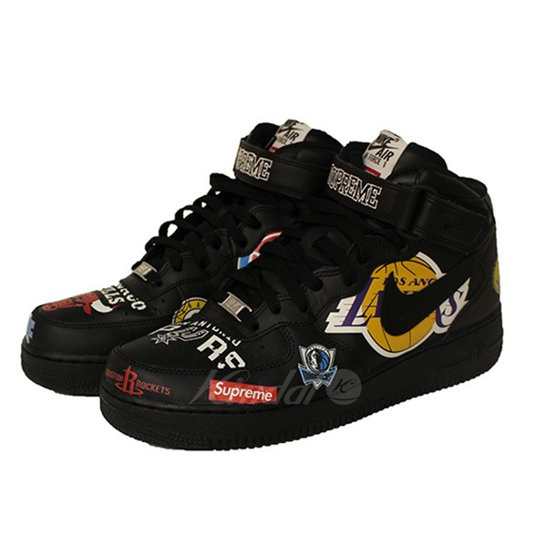 【中古】SUPREME×NIKE 18SS NBA Teams AIR FORCE MID 07 エアフォース スニーカー 【送料無料】 【001377】 【KIND1550】