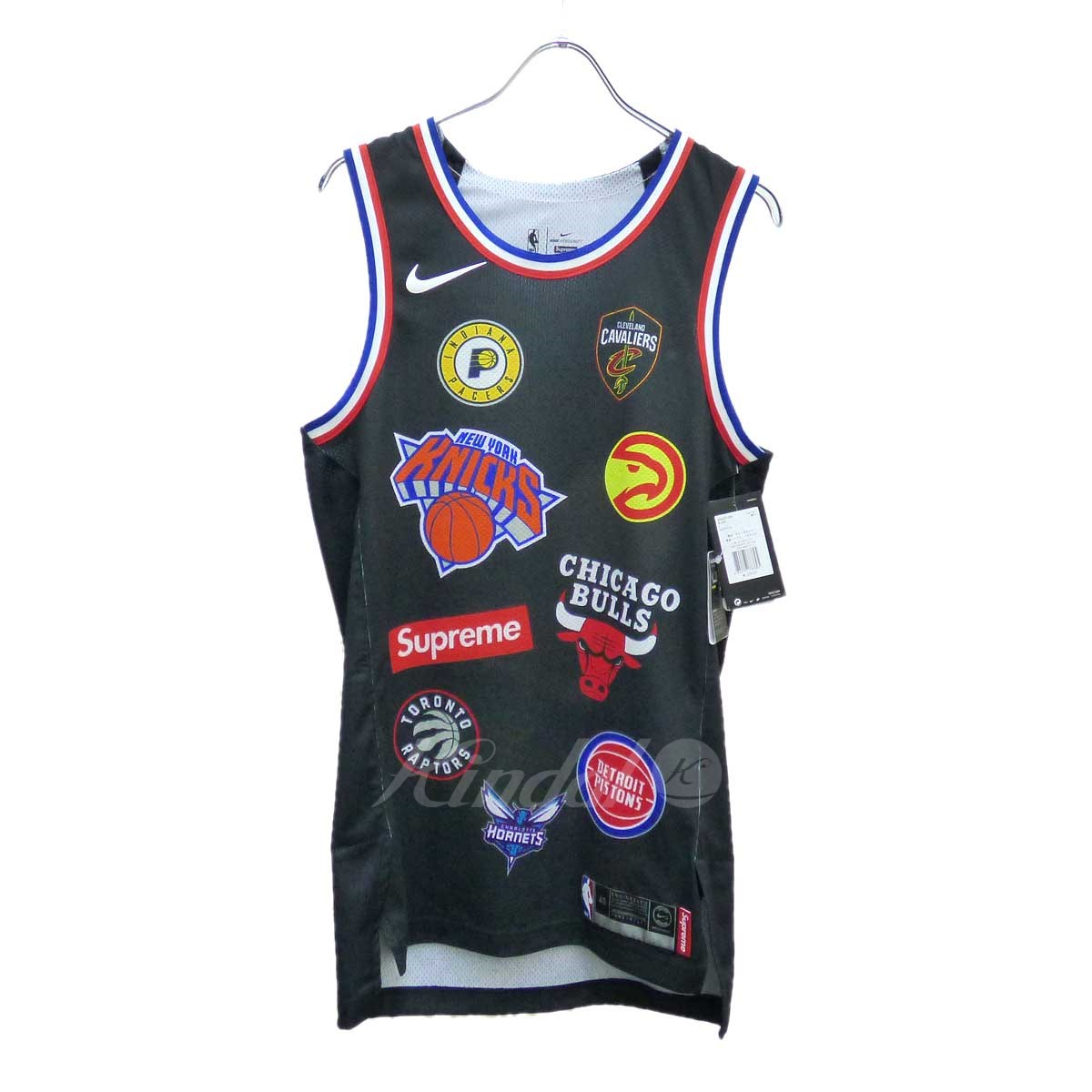 【中古】Supreme x NIKE NBA Teams Authentic Jersey タンクトップ 【送料無料】 【107629】 【KIND1499】