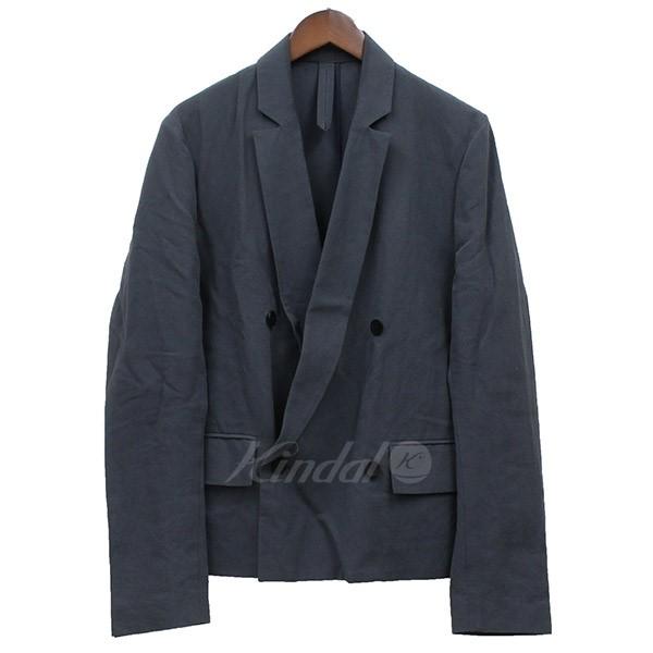 【中古】Edwina Horl 2018SS original amunzen short jacket ダブルショートジャケット 【送料無料】 【002286】 【KIND1550】