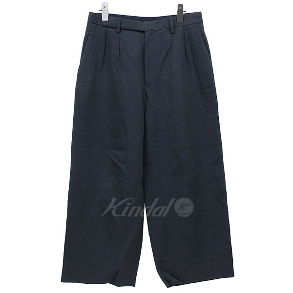 【中古】Edwina Hoel 2018SS original amunzen wide pants ワイドパンツ 【送料無料】 【002287】 【KIND1550】