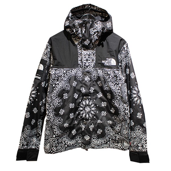 Supreme X The North Face 14aw Bandana Mountain Parka Paisley