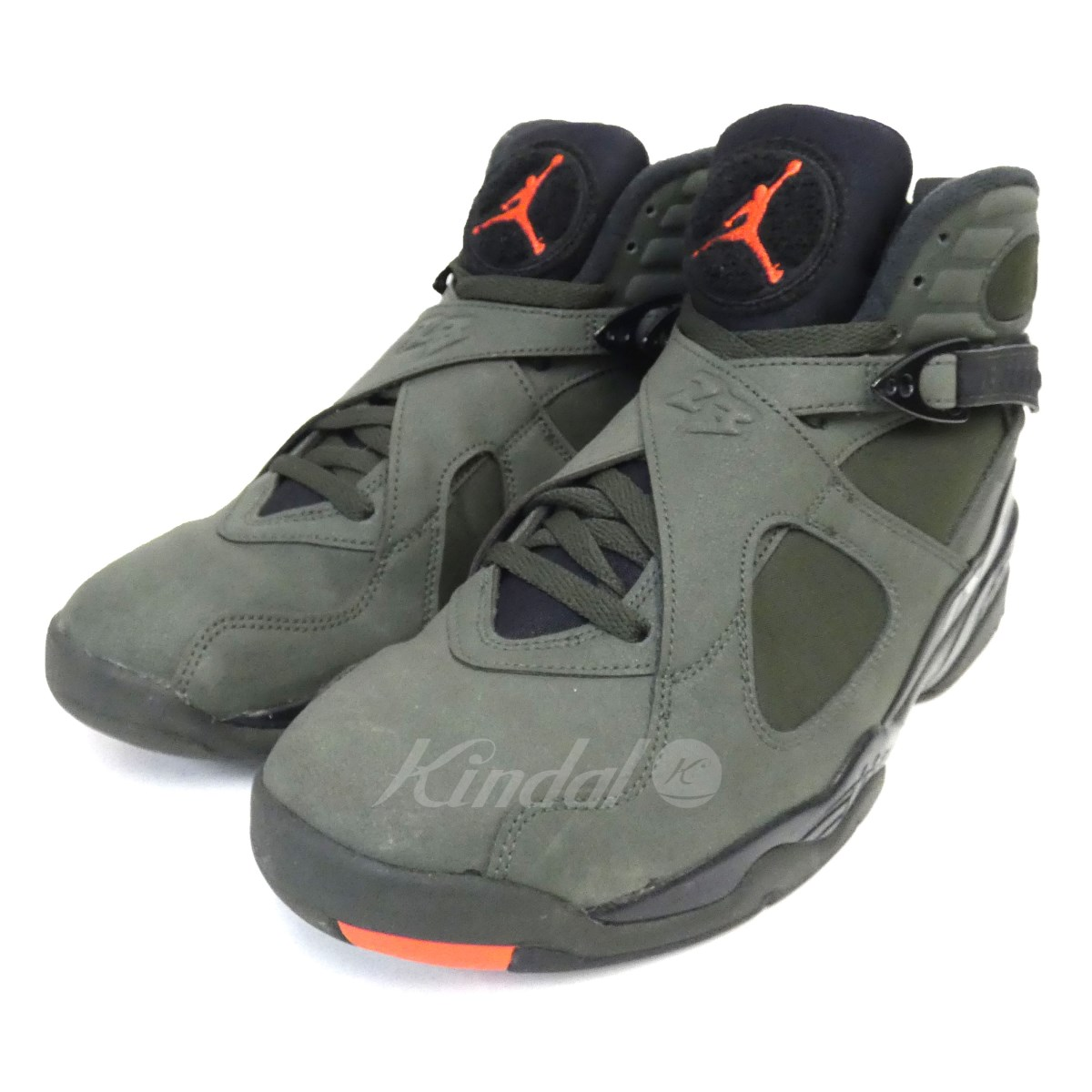 【中古】NIKE 「AIR JORDAN 8 RETRO TAKE FLIGHT」スニーカー 3035381-305 【送料無料】 【078187】 【KIND1550】
